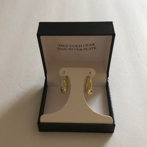 Brand new 24kt gold over fine silver plate